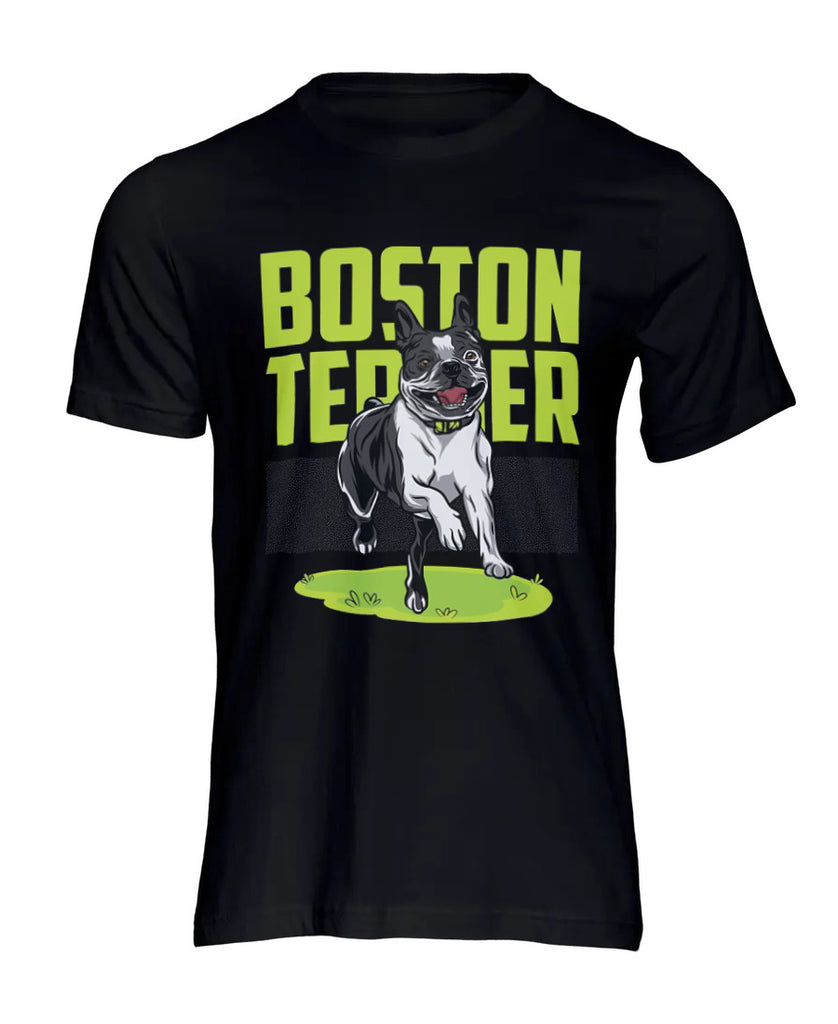 Happy Boston Terrier T-Shirt
