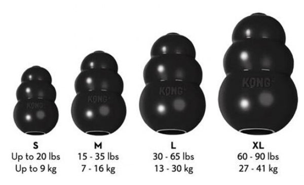 Kong Extreme Dog Toy Size Guide