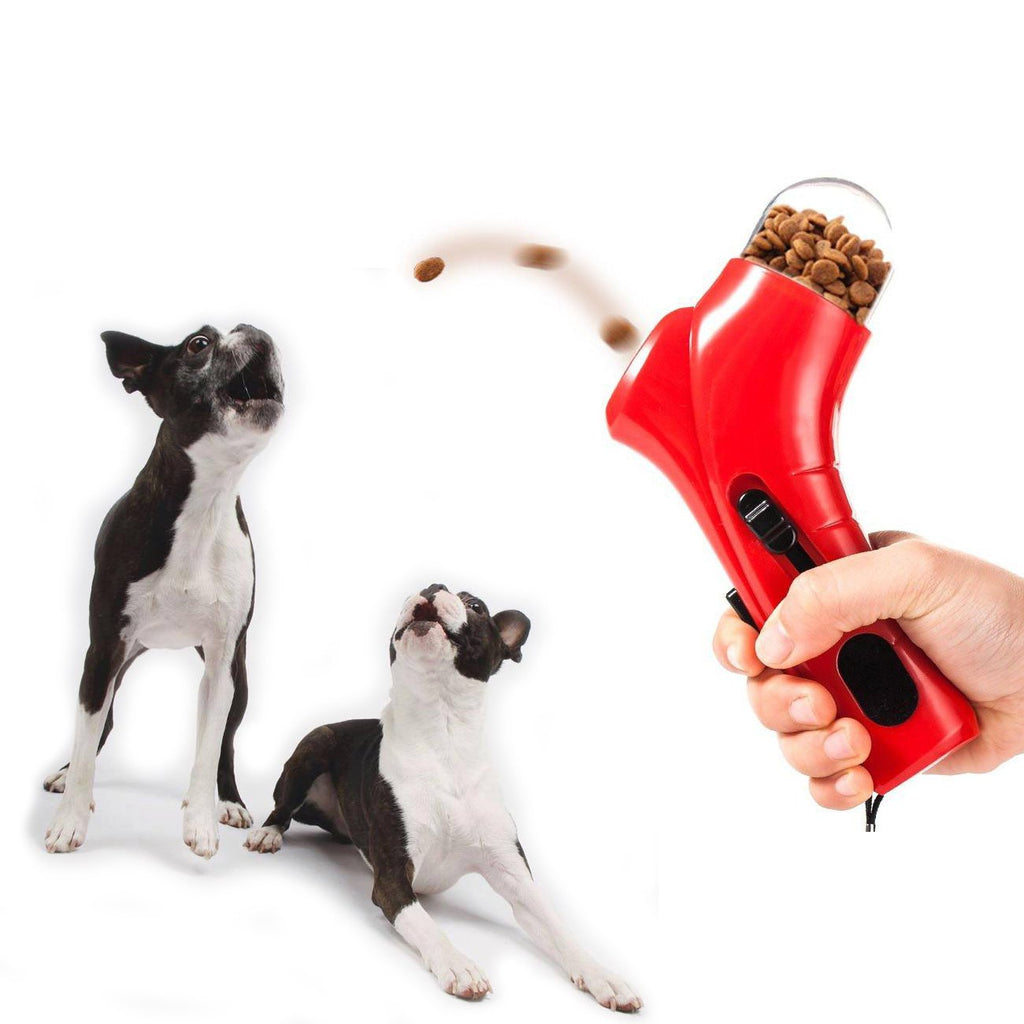 Dog Treat Launcher Catapult - Boston Terrier World
