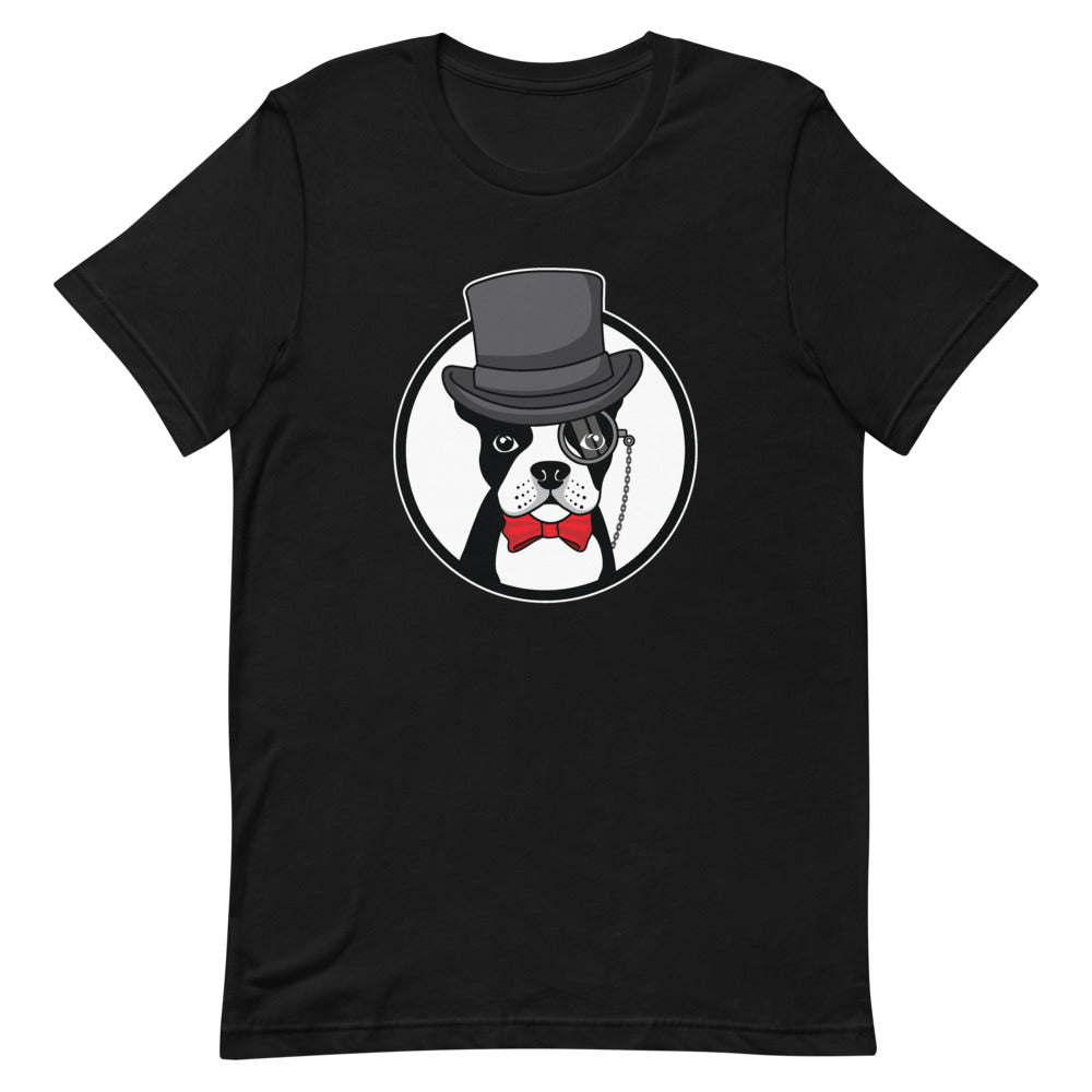 The Gentleman Boston Terrier T-Shirt