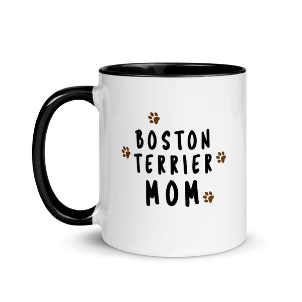 Boston Terrier Mom Muddy Paws Mug - Boston Terrier World