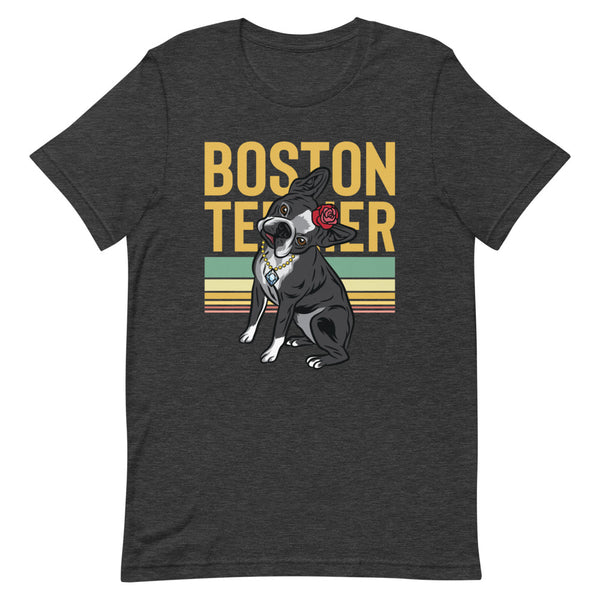 The Lady Boston Terrier T-Shirt