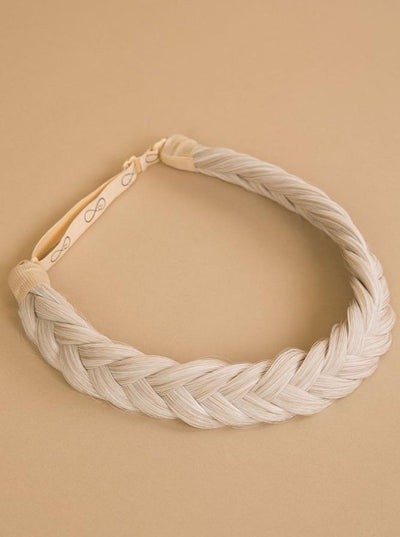 Lizzy Braid - Ashy Ribbon - Infinity Braids