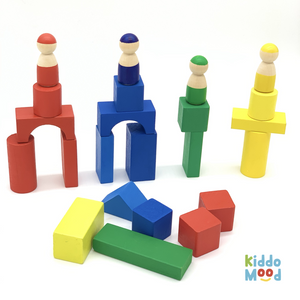 Track Toys Wooden Blocks