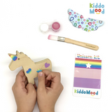 Unicorn Art Kit with stickers