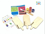 Popsicles and Butterflies Art kit BOX
