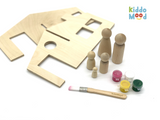 Dollhouse Art Kit Family