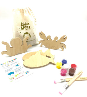 Sea Animals Art Kit Bag