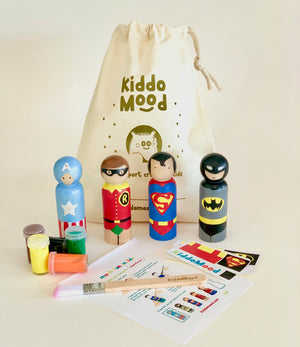 Superhero Art Kit Bag