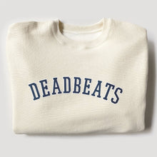 Load image into Gallery viewer, Deadbeats - Ultra Premium Heavyweight Crew - Bone
