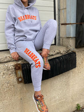 Load image into Gallery viewer, Deadbeats - Premium Athletic Gray Hoodie
