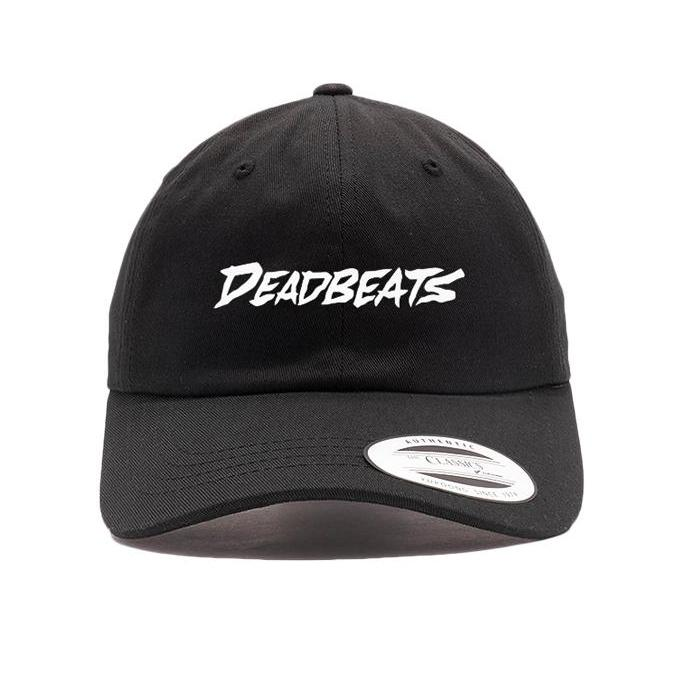 Deadbeats -Label Logo- Black Dad Hat