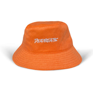 Deadbeats - French Terry Bucket Hat - Orange