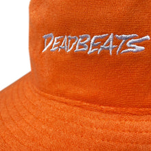 Load image into Gallery viewer, Deadbeats - French Terry Bucket Hat - Orange
