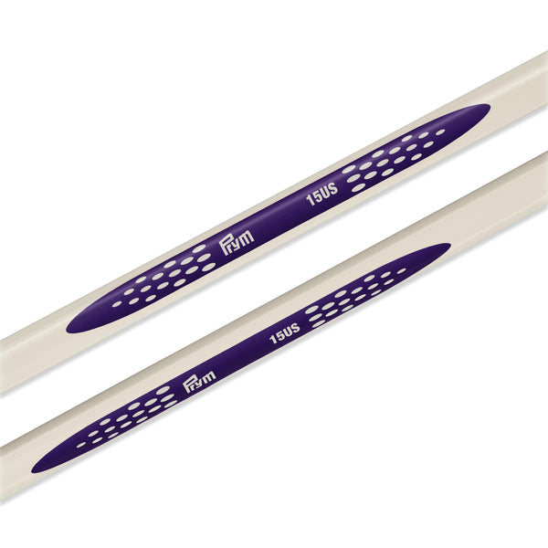 "US 15 (10mm) - 14"" Single Point Knitting Needles"