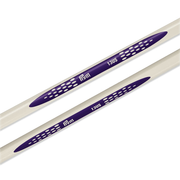 "US 13 (9mm) - 14"" Single Point Knitting Needles"