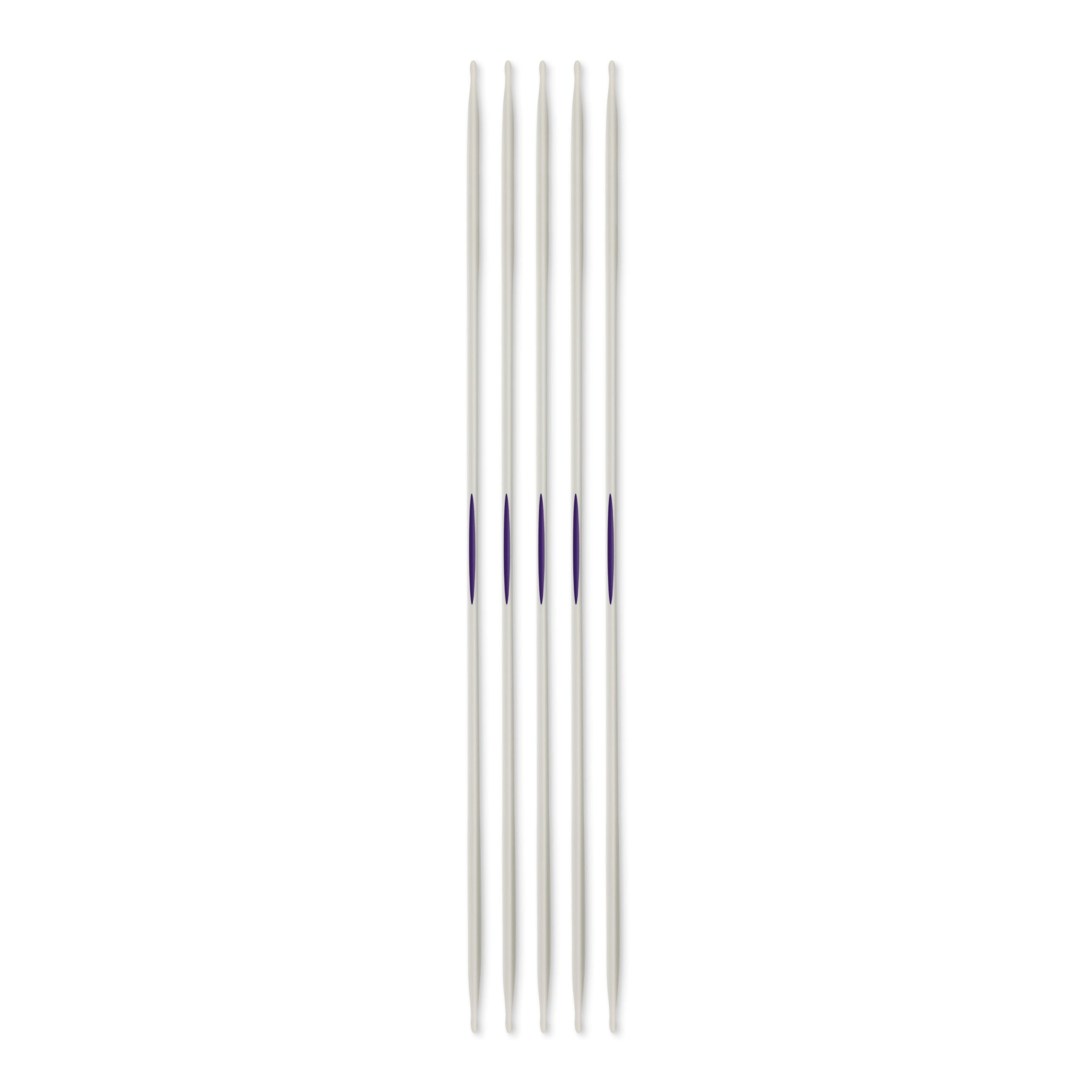 "US 1 (2.5mm) - 8"" Double Point Knitting Needles"
