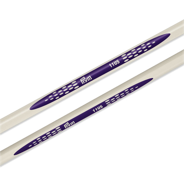 "US 11 (8mm) - 14"" Single Point Knitting Needles"