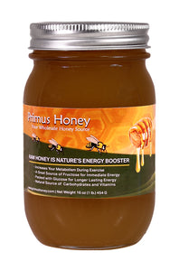 Raw Honey - Cinnamon Flavor