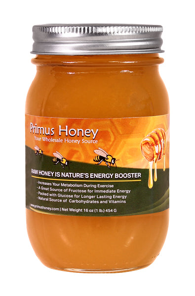 Raw Honey - Orange Blossom Flavor