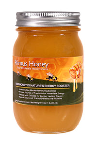 Raw Honey - Sweet Clover Flavor