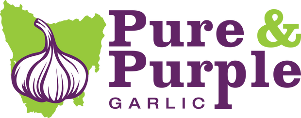 Pure & Purple - Tasmanian Flavoured Garlic