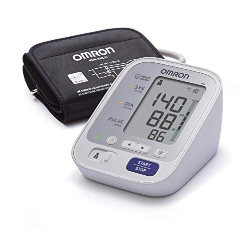 Omron M3 HEM-7155-E Comfort Upper Arm Blood Pressure Monitor - White