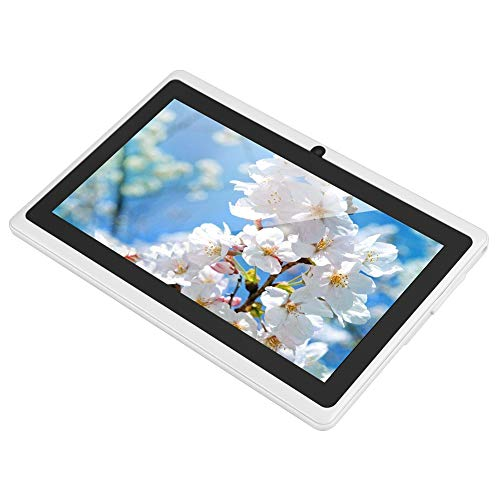 Eboxer 7IN HD IPS Mini Kompakte Android Tablet PC 8G ROM WiFi Bluetooth Quad-Core Dual Kamera 8GB ROM Tablet (weiss)