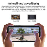 Blackview BV9900 (2020) Outdoor Handy, 256GB interner Speicher+8GB RAM mit Helio P90, 5.84 Zoll FHD Display 48MP Kamera, 4380mAh Bluetooth 5.0 UV-Detektion NFC Android 9 Smartphone IP68 Wasserdicht