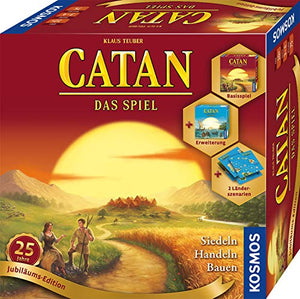 Kosmos 695217 Catan - Jubiläums-Edition 2020 Strategiespiel