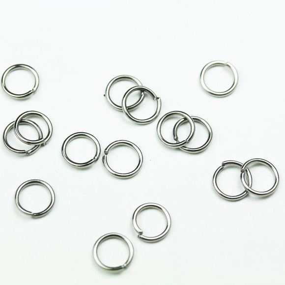200pcs 6mm 20gauge Stainless Steel Jump ring ,Jewellery findings,Close but Unsoldered round, 0.8mm thick - FDR0102