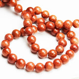 "Gold Sandstone, 6mm Round Gemstone, One full strand 16"", hole 1mm, 65 beads-GEM1166"