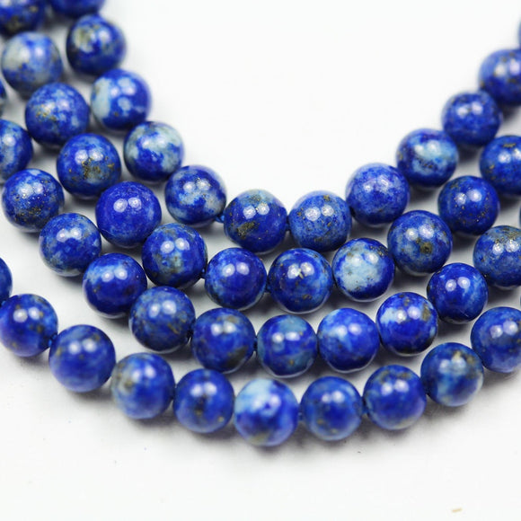 Natual lapis lazuli,6.5mm round  gemstone,natural Gemstone beads,15.5inch ,0.8mm hole, 16