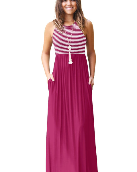 Mackenzie Maxi Dress - Fuchsia