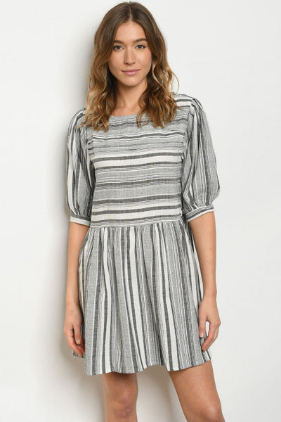 Stella Striped Dress