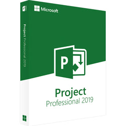 Microsoft Project Professional 2019 5PC