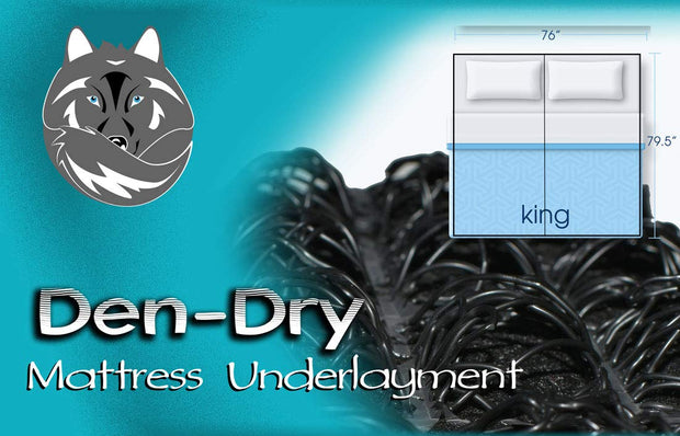 Den-Dry Mattress Underlay-King - Ravenwolf Marine