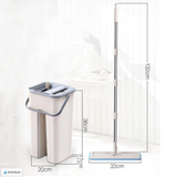 MAGIC HANDS-FREE MOPS AND BUCKET - OrderConcept