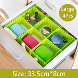 Adjustable Drawer Organizer (Set of 4) - OrderConcept