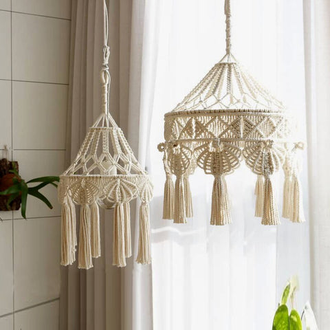 BOHO SHADE HANGING LIGHTS - OrderConcept