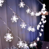 LED Snowflake String Lights - OrderConcept