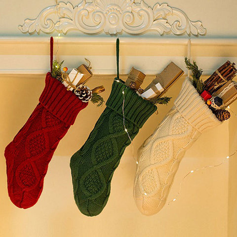 Knitted Christmas Stocking - OrderConcept