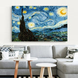Starry Night by Vincent Van Gogh Poster - OrderConcept