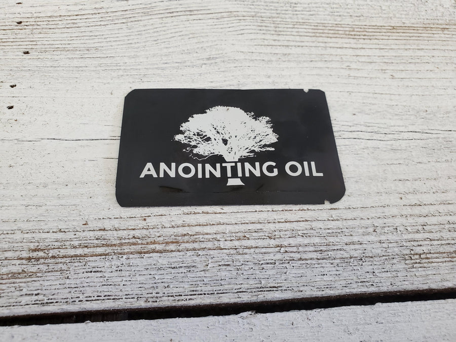 LDS anointing oil for priesthood blessings