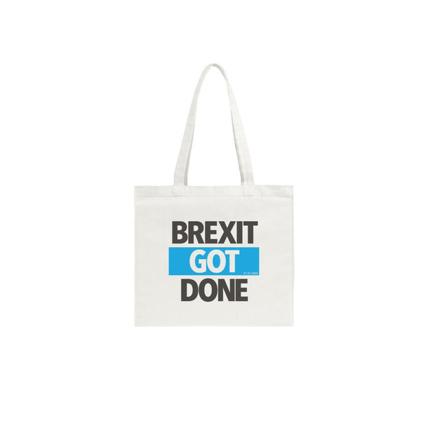 Brexit Got Done — Shopping bag