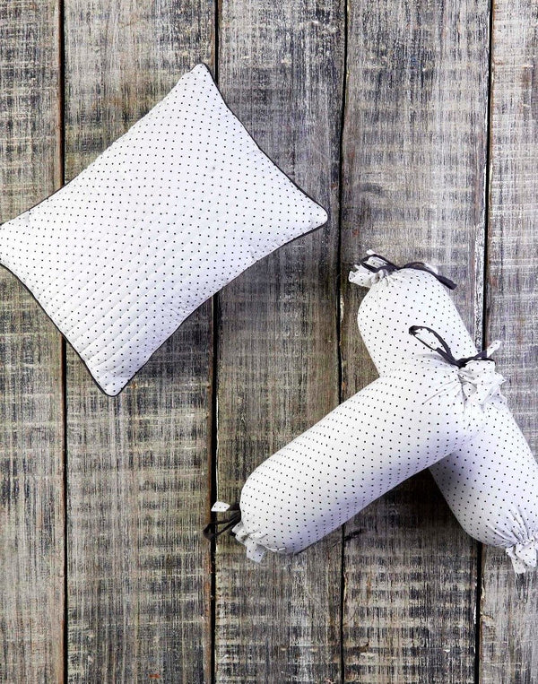 GREENWICH PILLOW & BOLSTER SET