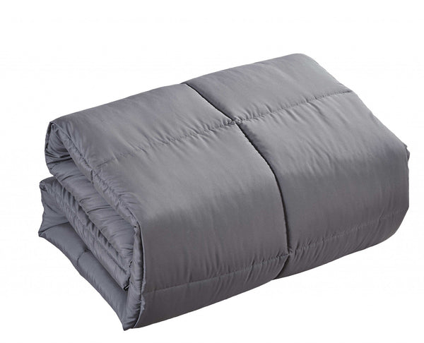 Medium Warmth Polyester Down-Alternative Comforter Duvet Insert