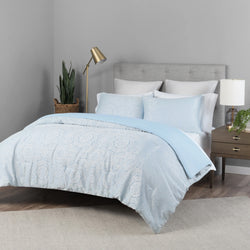 Light Blue Lionel Richie Home Comforter Set