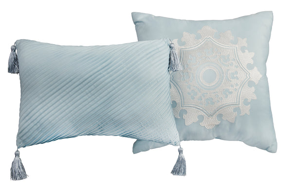 Light Blue Lionel Richie Home Dec Pillow