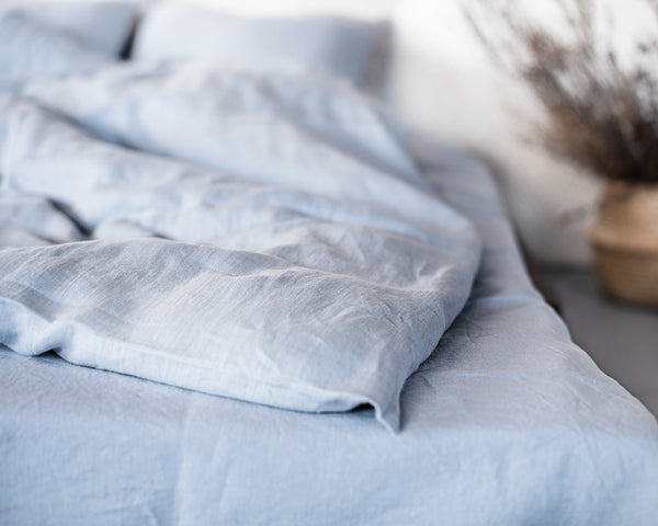 Pure Elegance Softened linen duvet cover